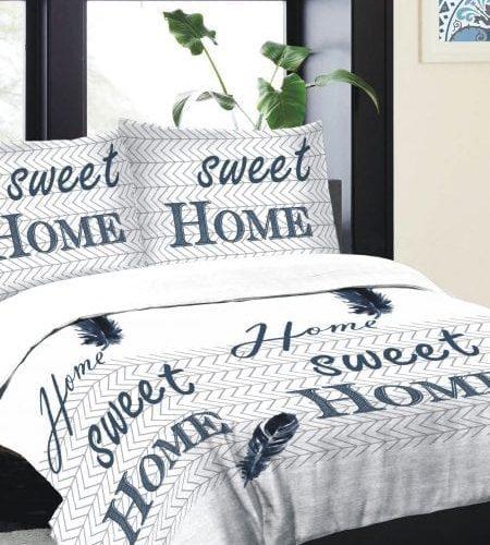 home sweet home dekbedovertrek