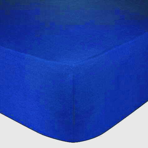 Hoeslaken Blauw