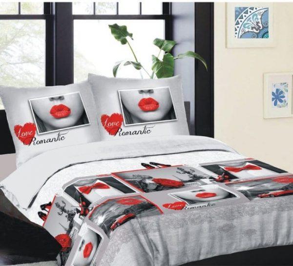 Romantische dekbedovertrek