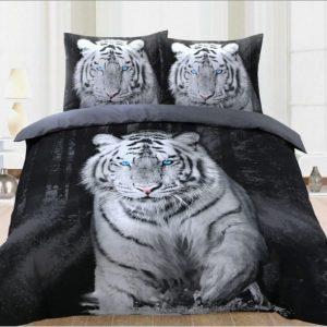 Dekbedovertrek witte tijger
