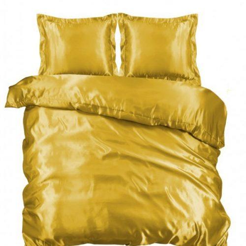 Dekbedovertrek goud