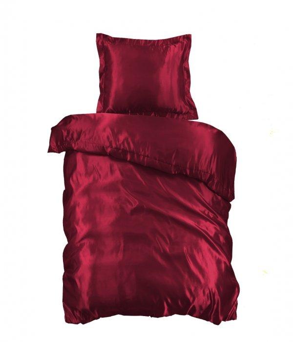 Rode dekbedovertrek