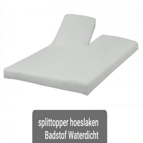 Waterdicht Splittopper Badstof