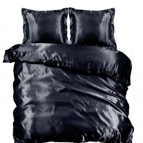 Zwarte dekbedovertrek