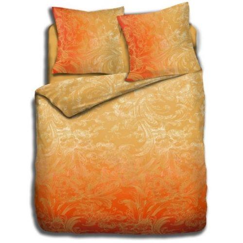 Oranje dekbedovertrek