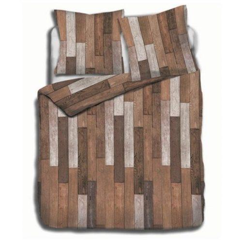 dekbedovertrek hout